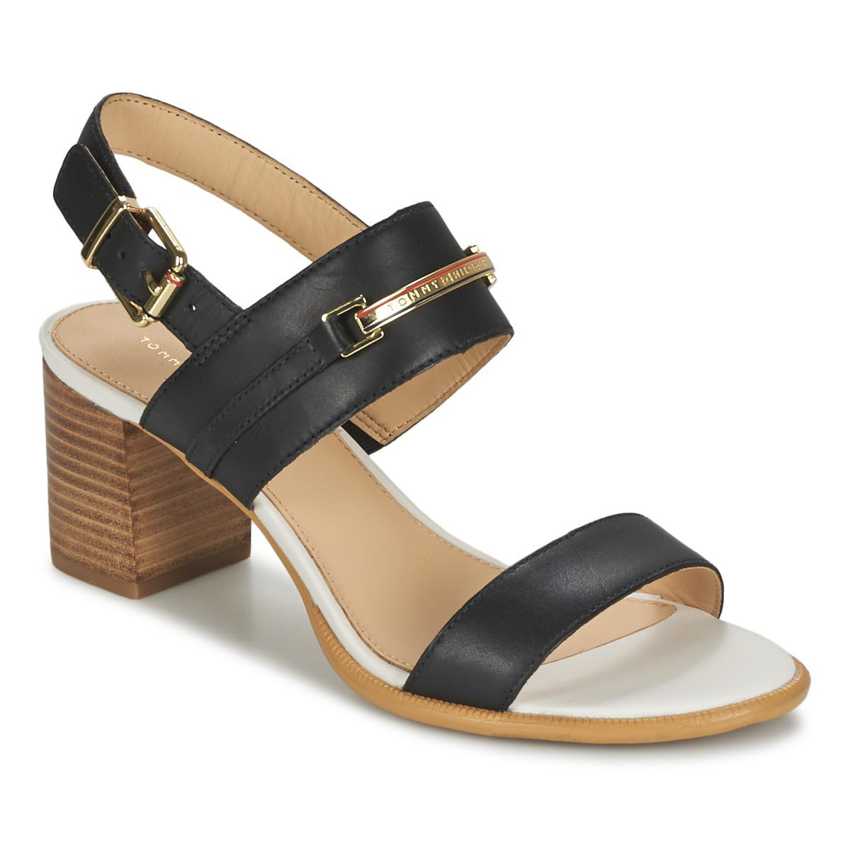 818af7a21228 Tommy Hilfiger Josephine 2a Sandals in Black - Lyst