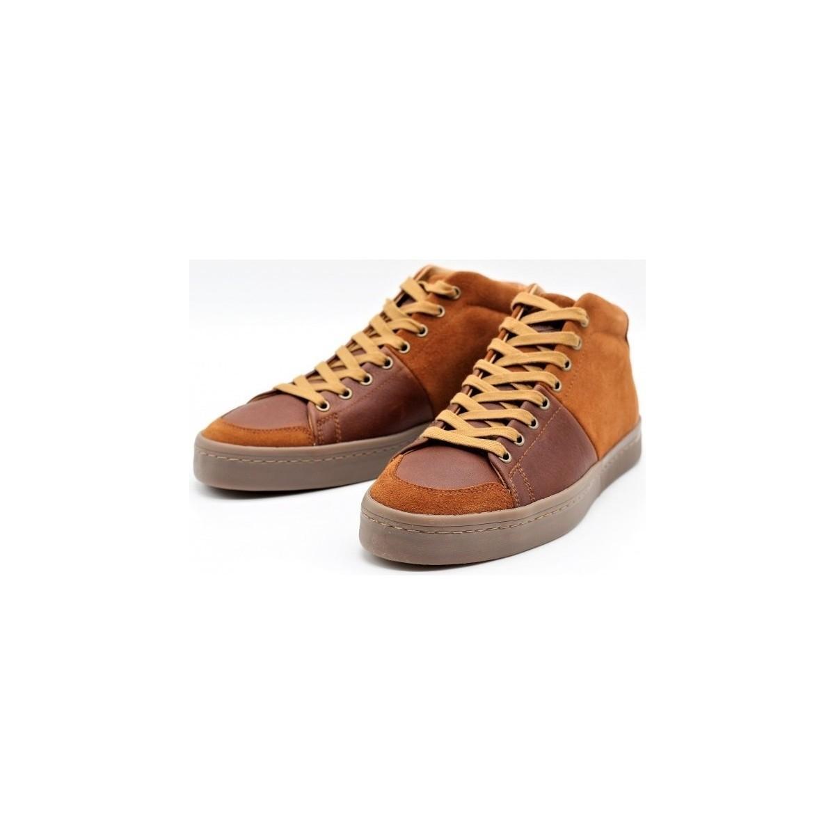Basket Montante Flucke Mix Plp Chaussures Palladium pour homme en coloris Marron DvpN