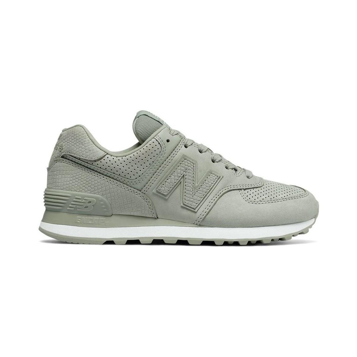 2322e5ed3b13 New Balance Wl574urv Women s Shoes (trainers) In Multicolour in Gray ...
