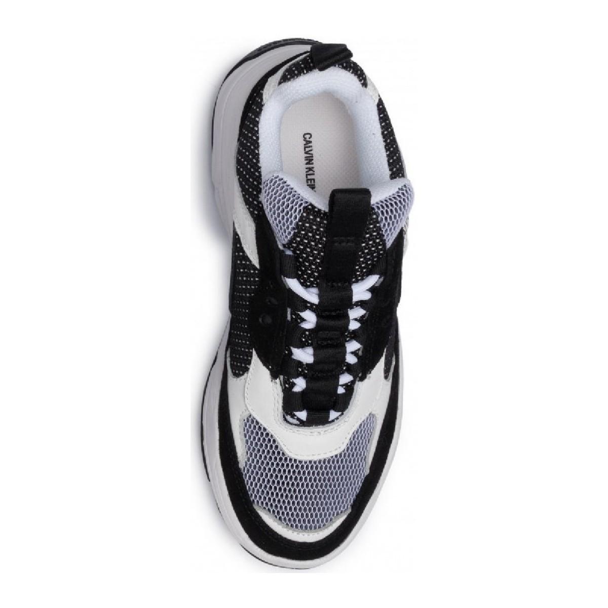 Chunky Chaussures Jean Calvin Klein en coloris Blanc