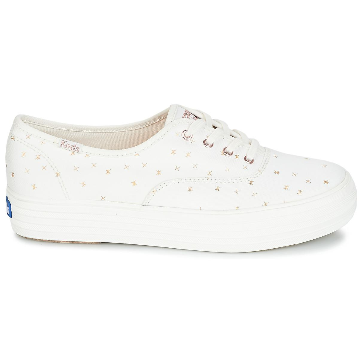 55f2ca3e231bd Keds - White Triple Ethereal Shoes (trainers) - Lyst. View fullscreen