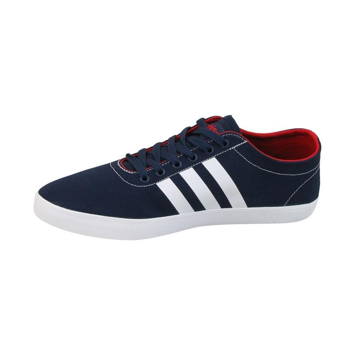 adidas Vs Easy Vulc Men's Shoes (trainers) In Multicolour in Blue for Men