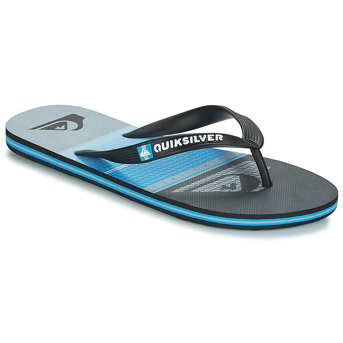 5ee3fdce5ed9 Quiksilver - Molohighlinslab M Sndl Xkbs Men s Flip Flops   Sandals (shoes)  In Black. View fullscreen