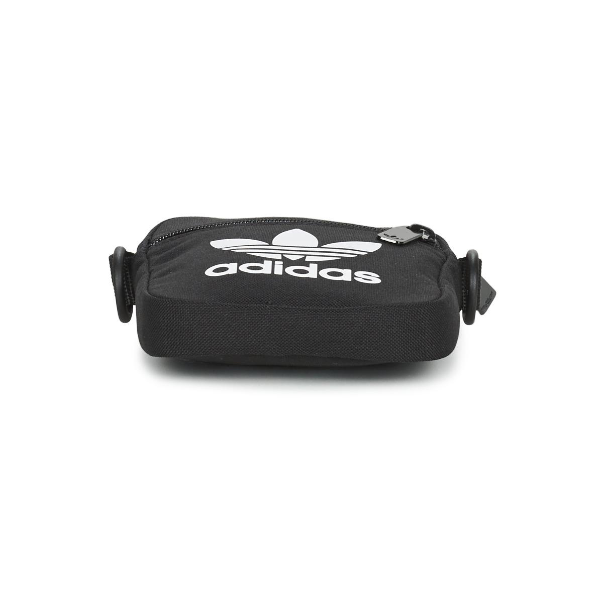 adidas Handtaschen FEST BAG TREF in Schwarz WlYPP