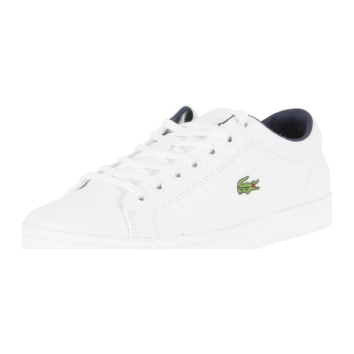 Mens Straightset Bl 2 Cam Trainers, Blue Lacoste