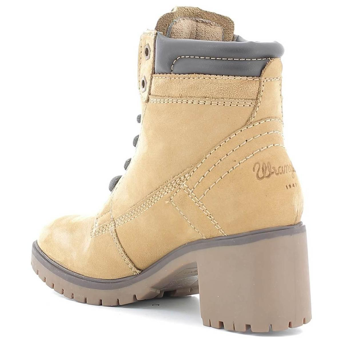Wrangler Wl162520 Ankle Boots Women Tan Women's Mid Boots In Brown