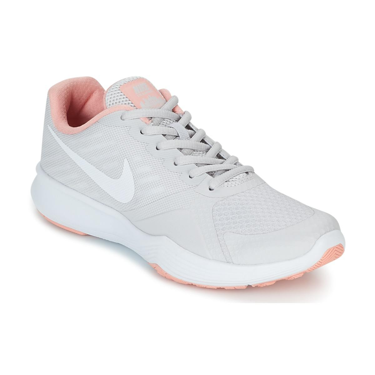 58ede85130b7a Nike City Trainer W Women s Sports Trainers (shoes) In Grey in Gray ...