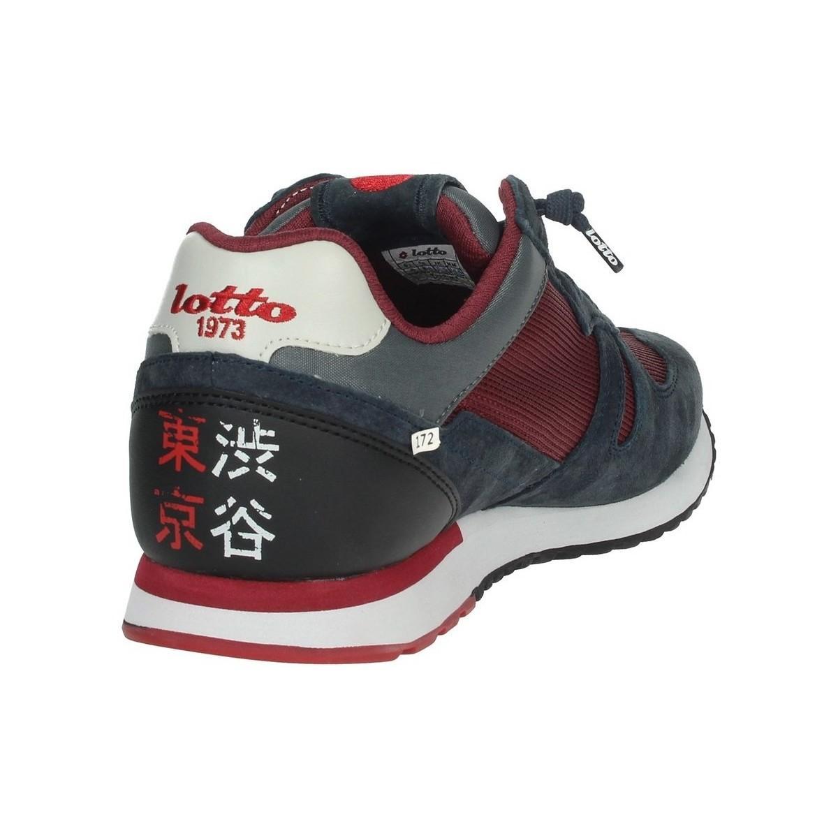 Lotto Leggenda Lage Sneakers L58233 in het Blauw voor heren