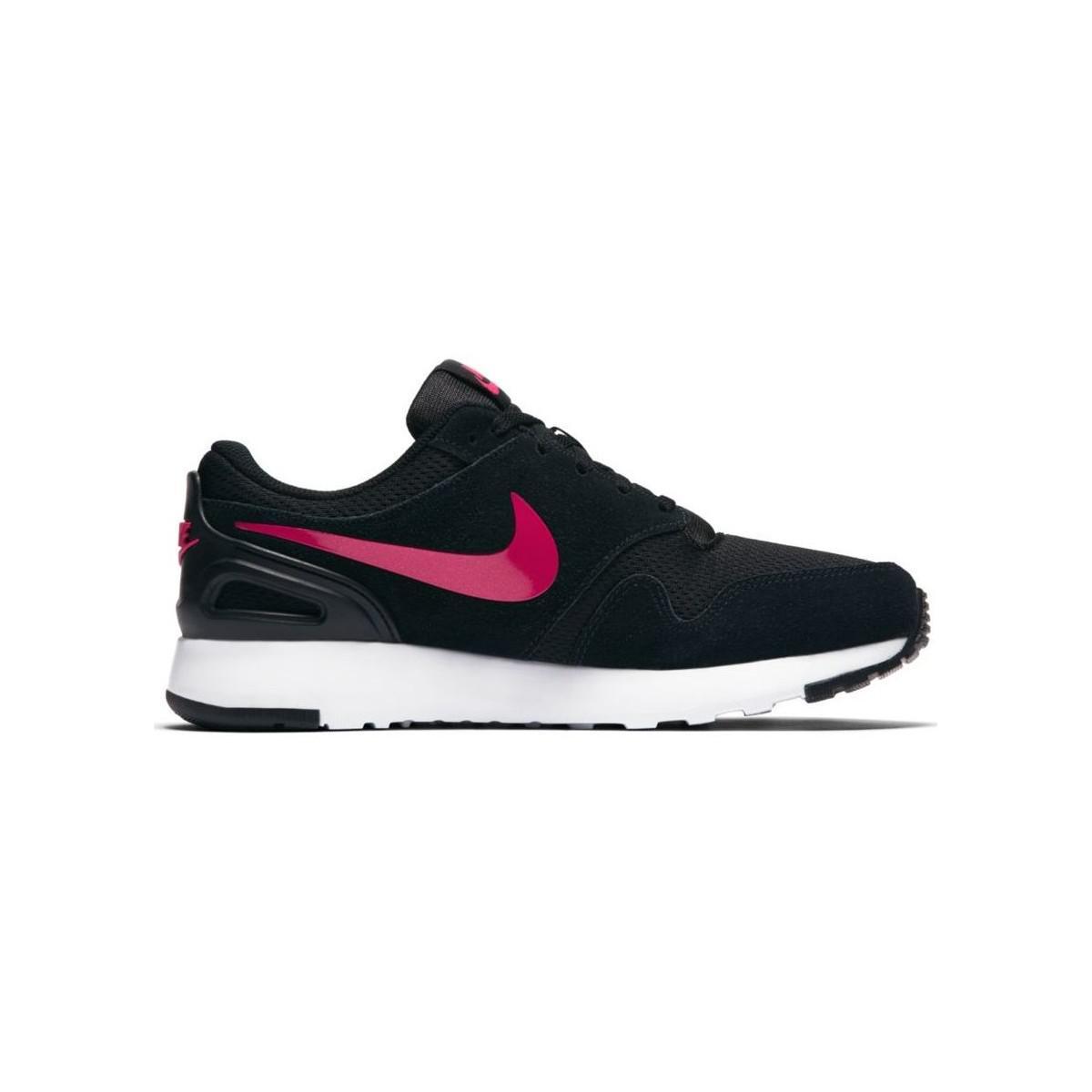 Nike Girls' Vibenna (gs) Running Shoe Women's Shoes (trainers) In Black