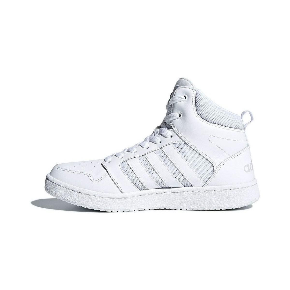 adidas Neo Men's CF Super Hoops Mid Basketball Shoe White