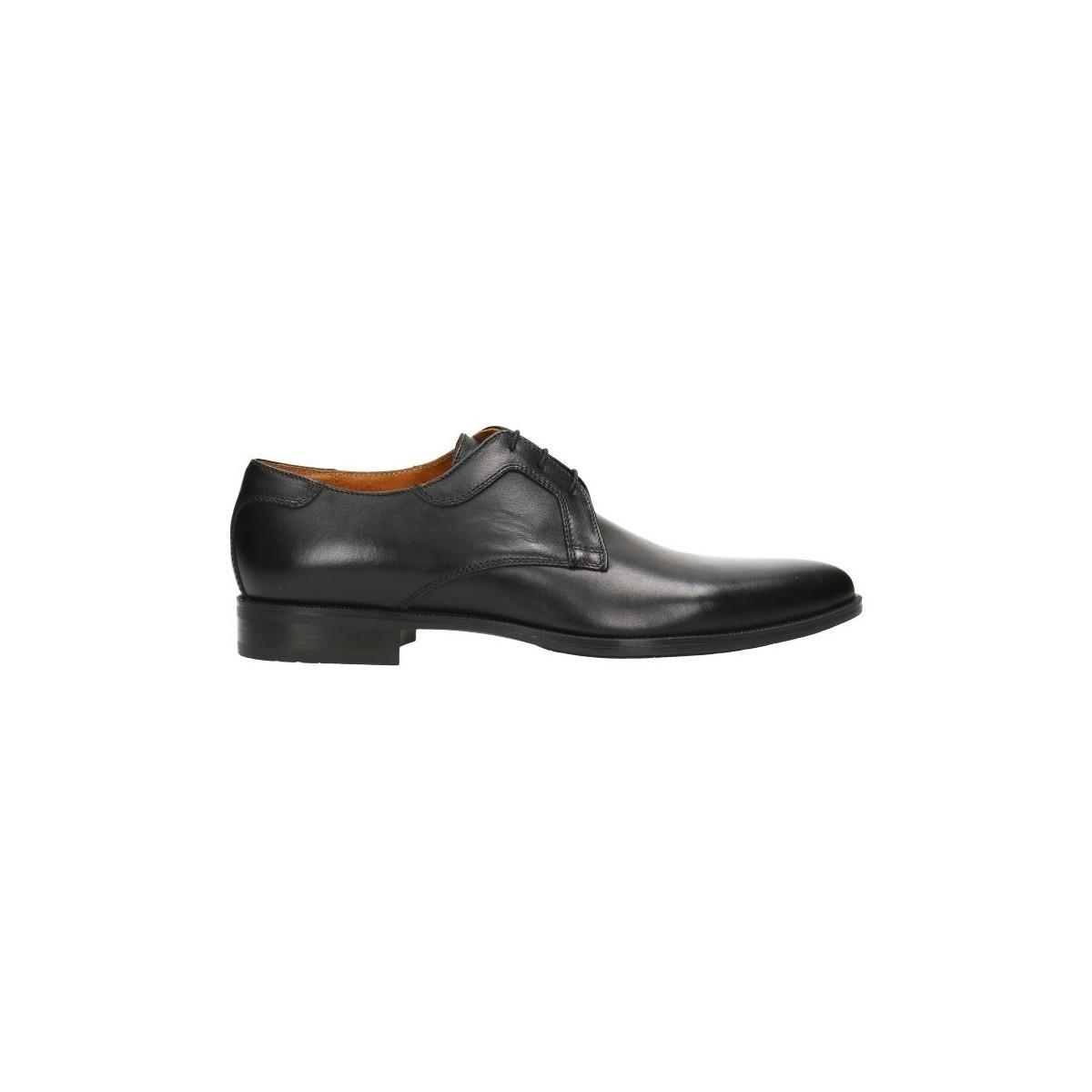Gino Rossi Derbies Mpc653 Black Man Spring/summer Collection 2018 Men's Smart / Formal Shoes In Black for Men