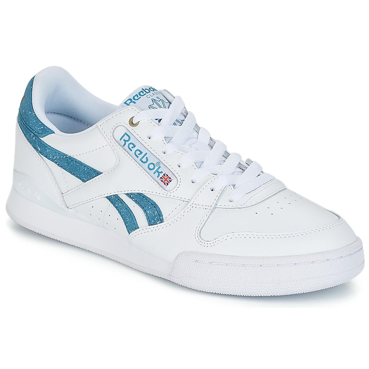 Reebok Phase 1 Pro Mu Men s Shoes (trainers) In White in White for ... e505acb97