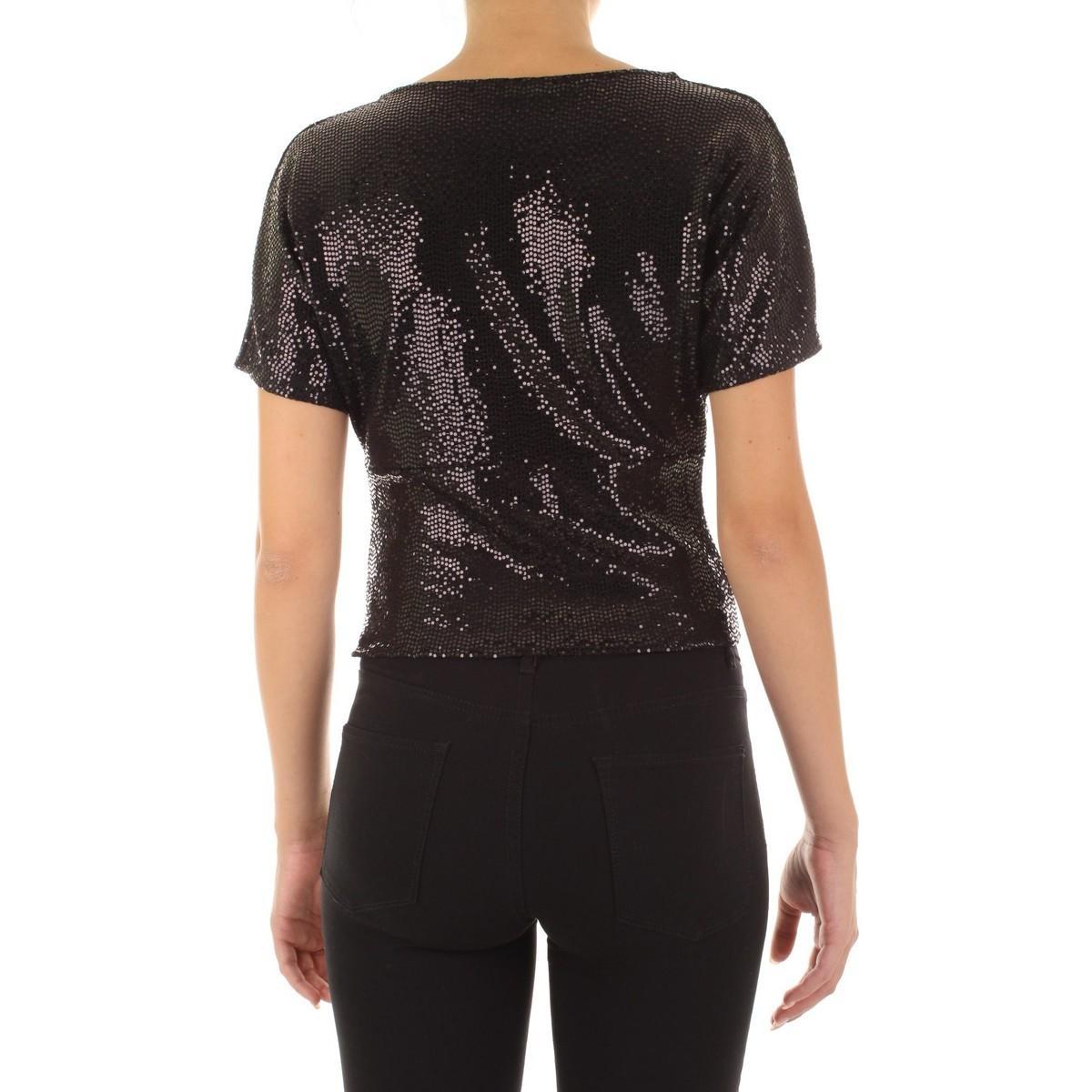 BH26A19 Blouses Angela Davis en coloris Noir