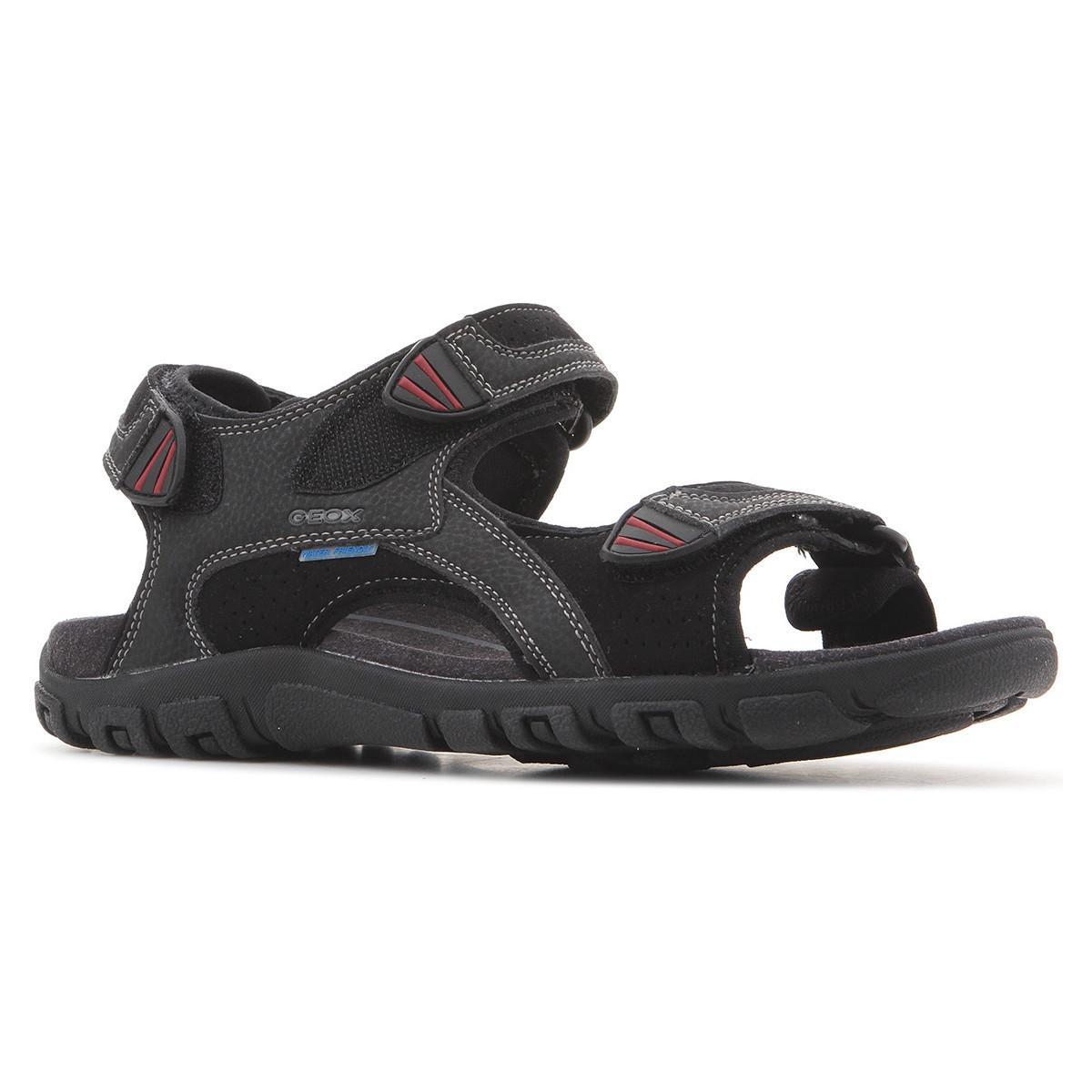 Geox U S. Strada Wf C U6224c 0au50 C9999 Men's Sandals In