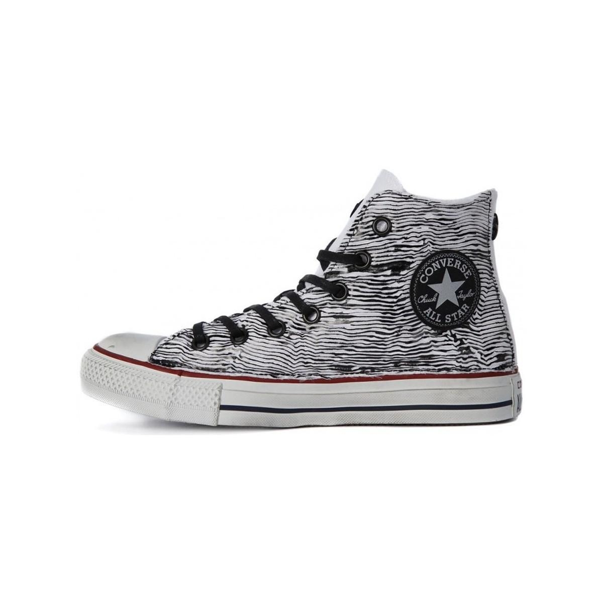 Converse All Star Ox Women's Shoes (high-top Trainers) In Grey in Grey