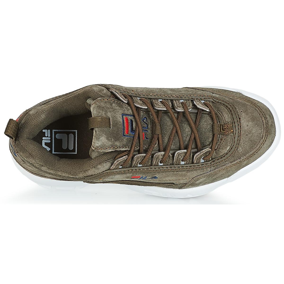 Fila Disruptor S Low Wmn Women's Shoes (high-top Trainers) In Brown
