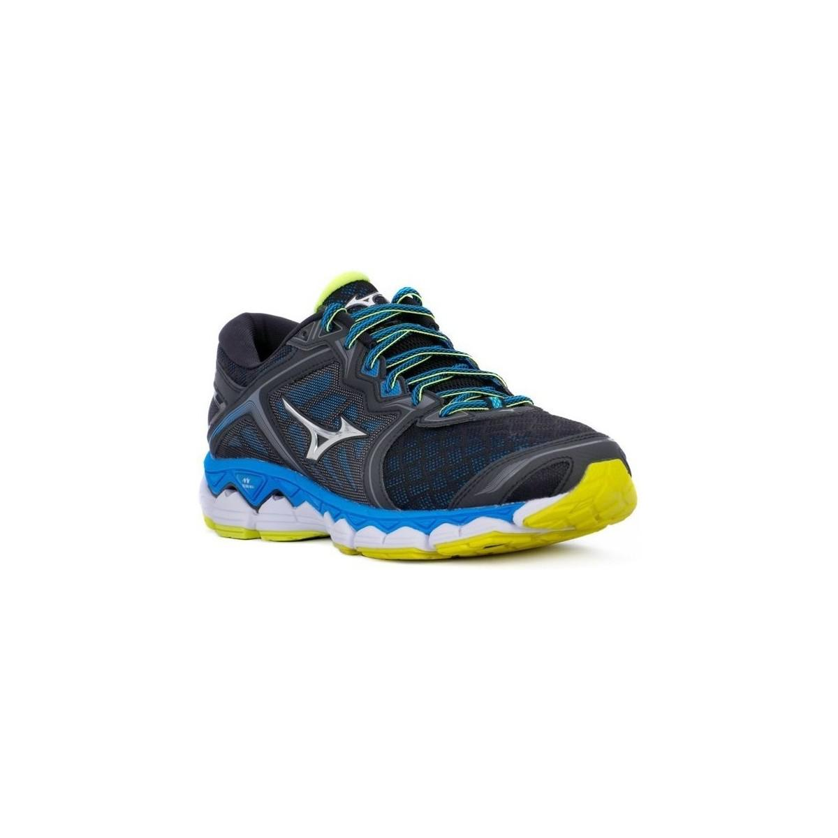 Mizuno Wave Sky Men's Shoes (trainers) In Blue for Men