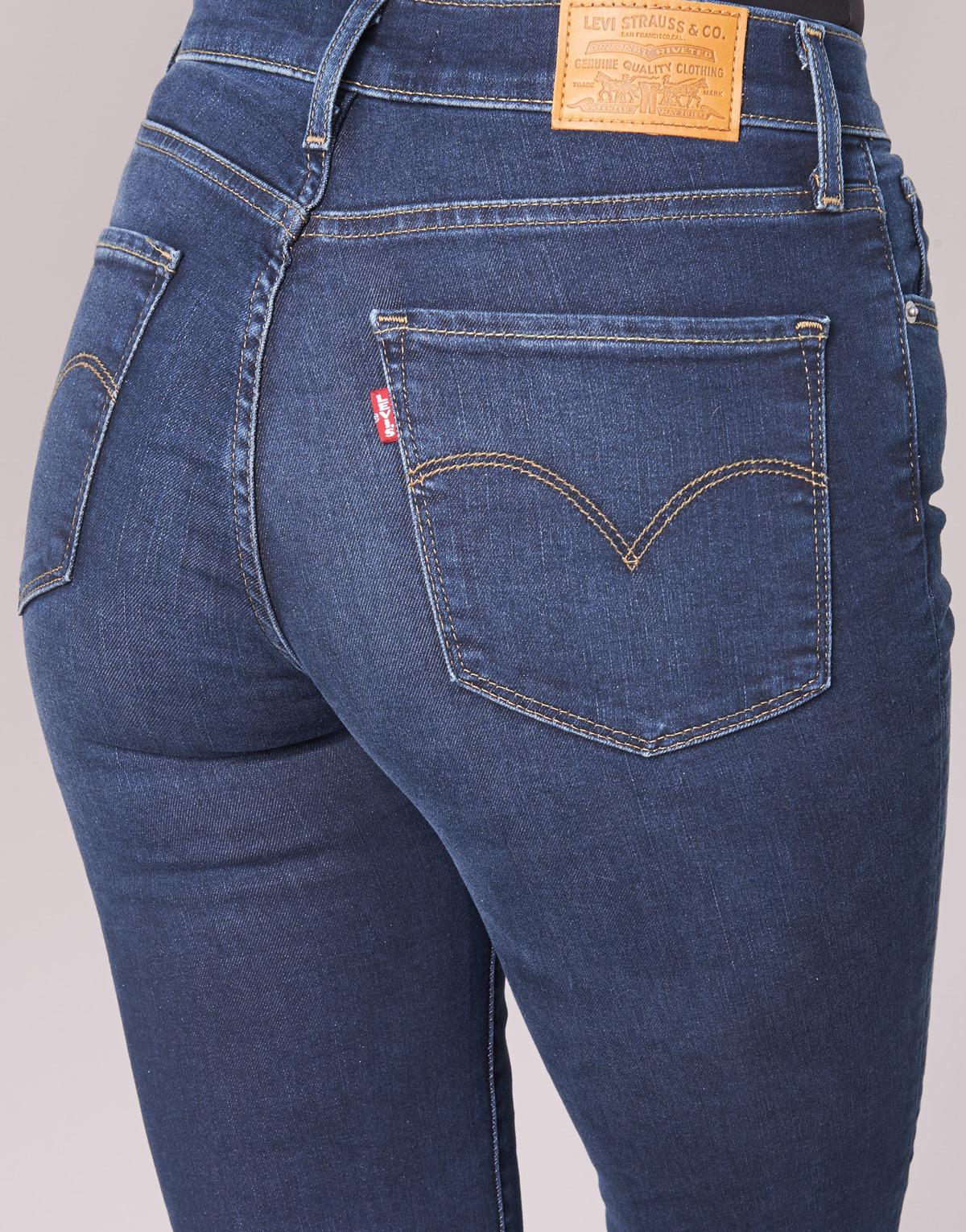 91bf9bea30fab Levi s - Blue 724 High Rise Straight Jeans - Lyst. View fullscreen