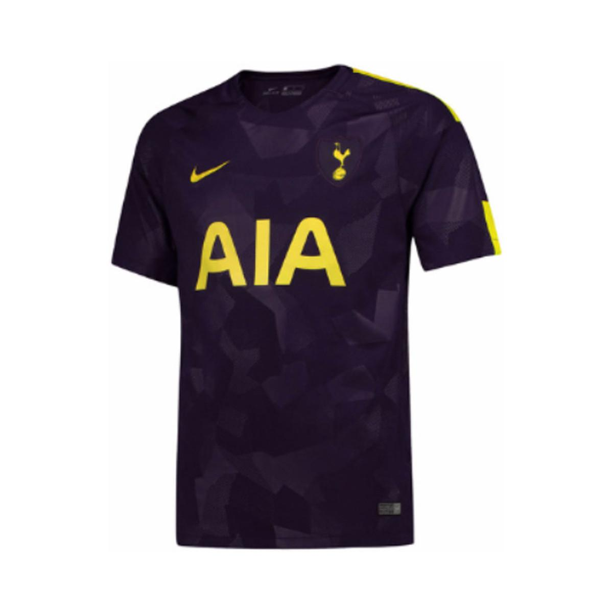 Nike 2017 2018 Tottenham Third Football Shirt Men S T Shirt In Blue For Men Lyst