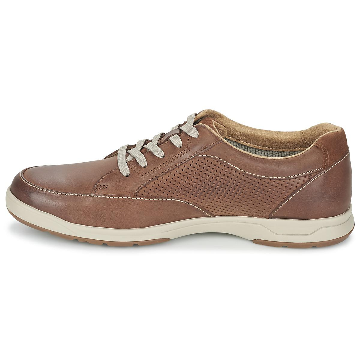 Clarks Leather Stafford Park5 Shoes (trainers) in Brown for Men