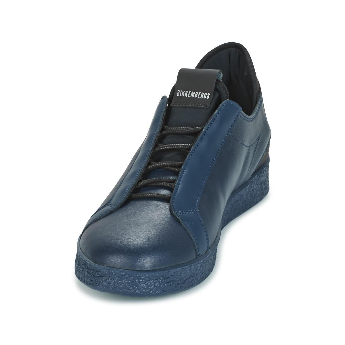 Bikkembergs Leather Best 873 Shoes (trainers) in Blue for Men - Save 17%