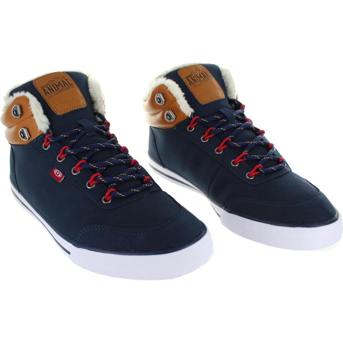 Animal Enzo Men's Shoes (high-top Trainers) In Blue for Men