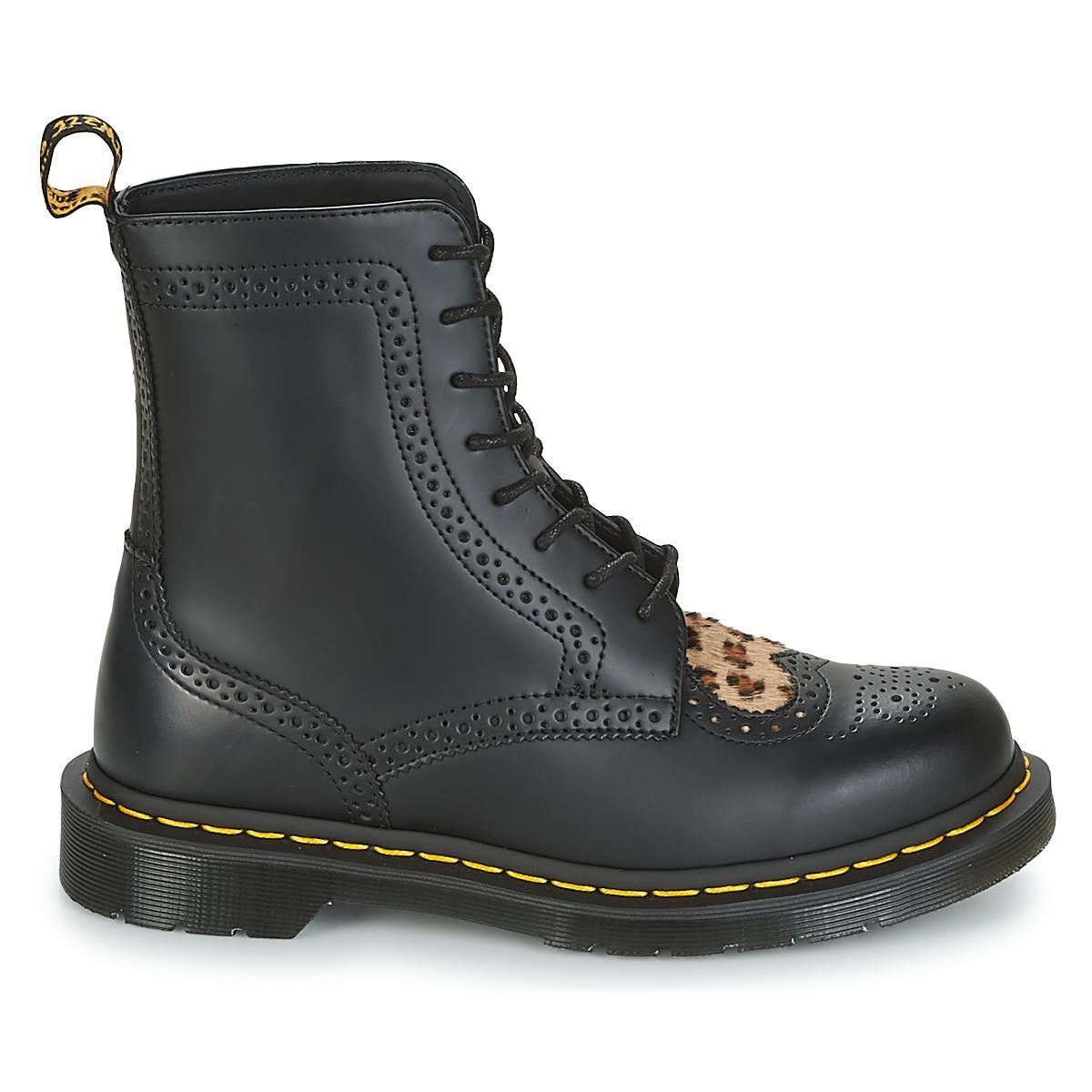 Dr. Martens Bentley Ii Hrt Women's Mid Boots In Black