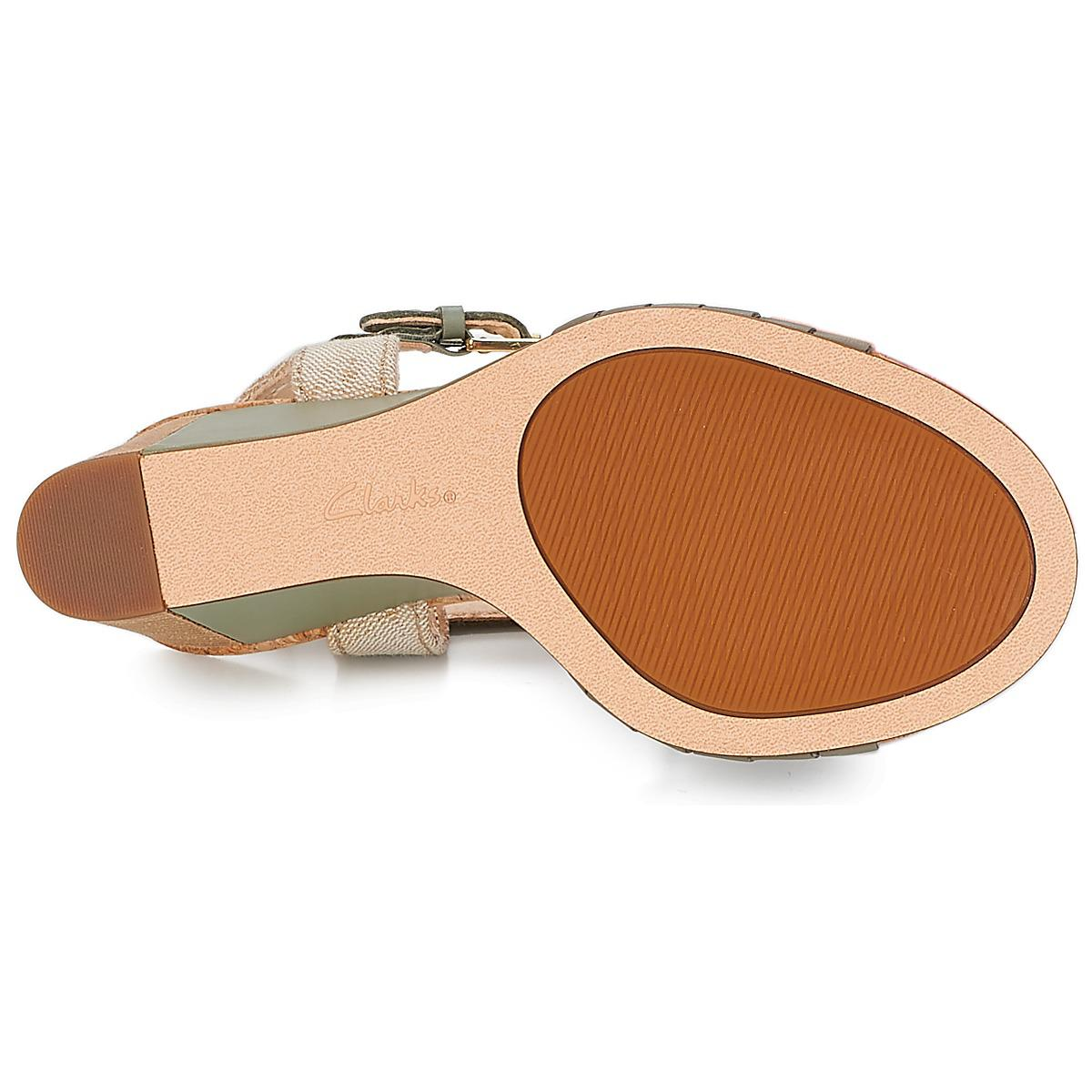 b3492ec71 Clarks - Green Spiced Poppy Sandals - Lyst. View fullscreen