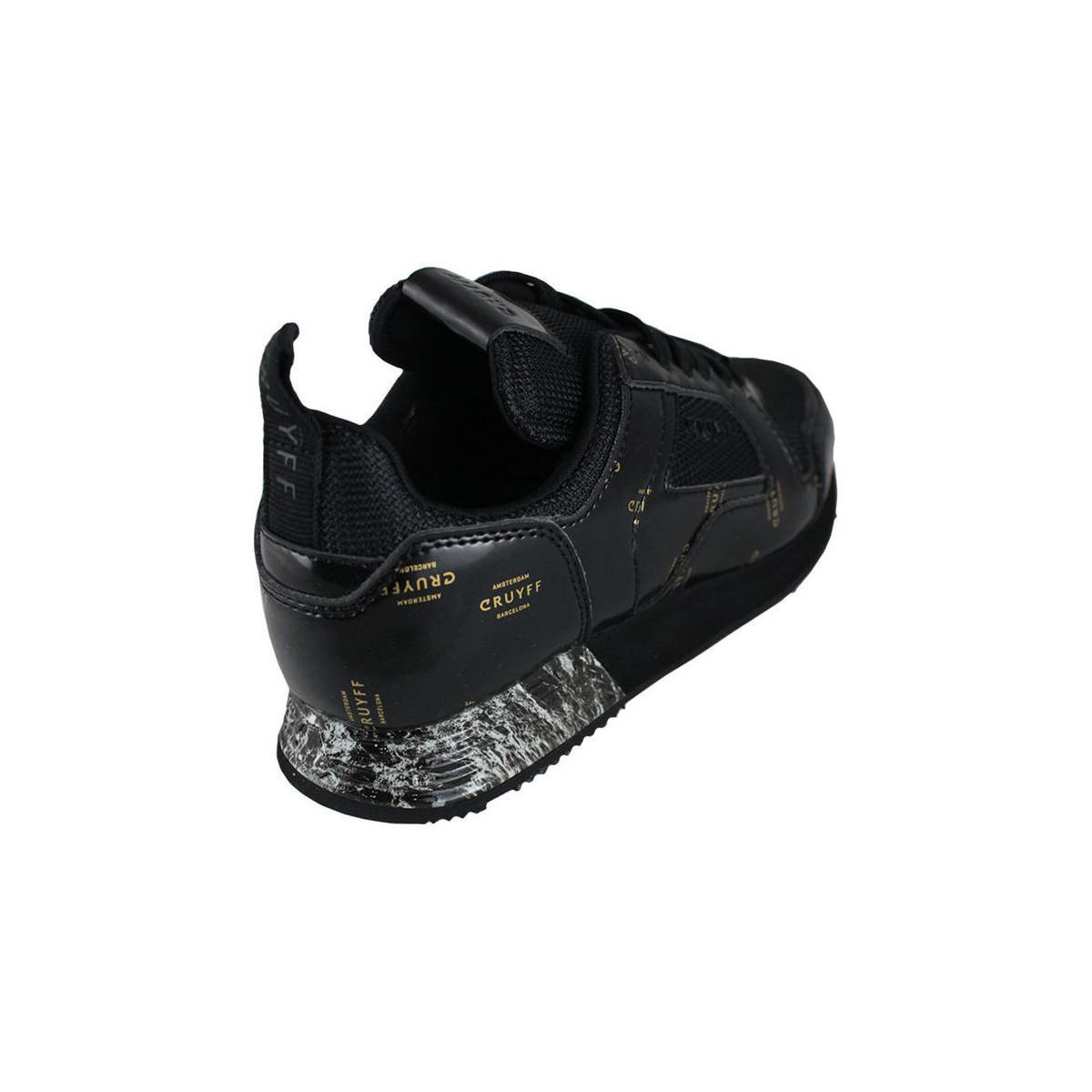 Baskets basses lusso black Cruyff h37h