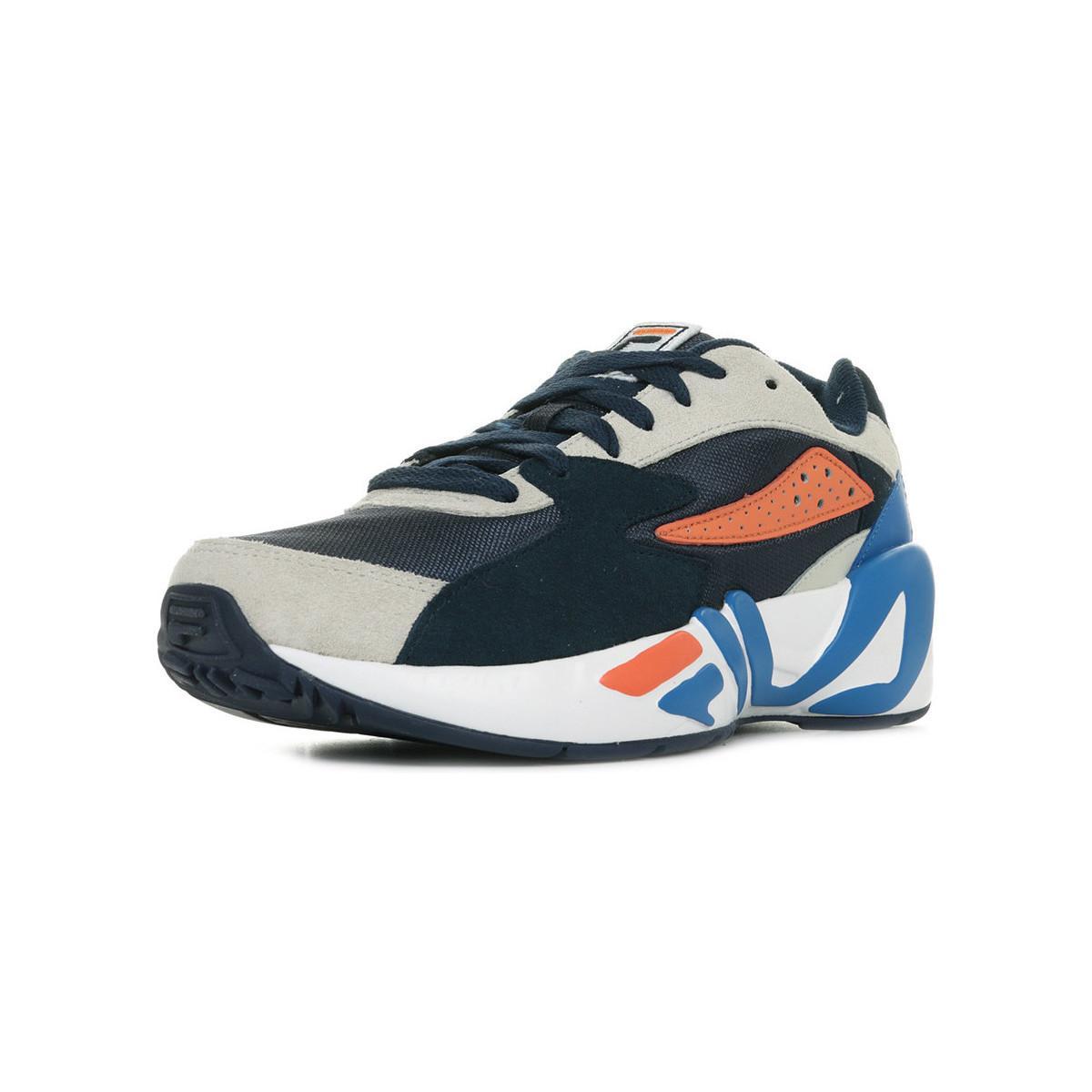 Fila Lage Sneakers Mindblower in het Blauw voor heren