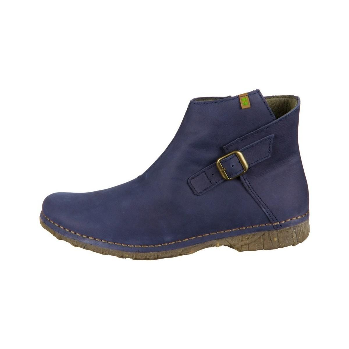 El Naturalista Angkor Women's Mid Boots In Multicolour in Blue