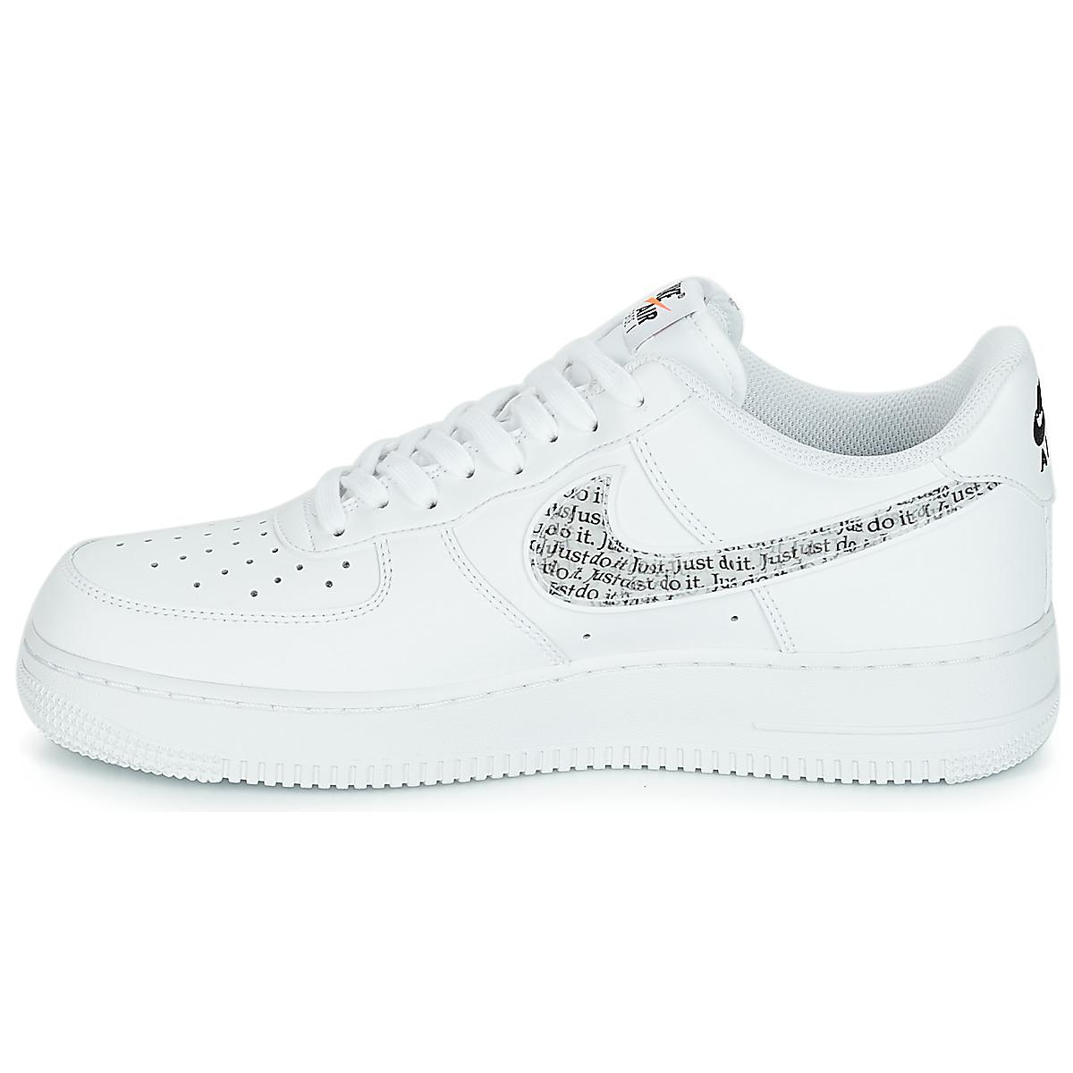 Coloris White Hommes Force Nike '07 Homme Do Just 1 Chaussures Pour Air It En Blanc Lv8 WHID29E