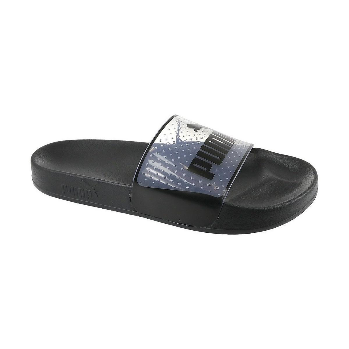 177991b8fad0 PUMA Leadcat Jelly Women s Mules   Casual Shoes In Black in Black ...