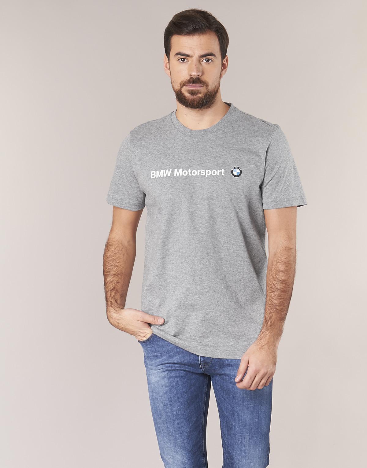 c1fbd491 PUMA Bmw Msp Logo Tee T Shirt in Gray for Men - Lyst