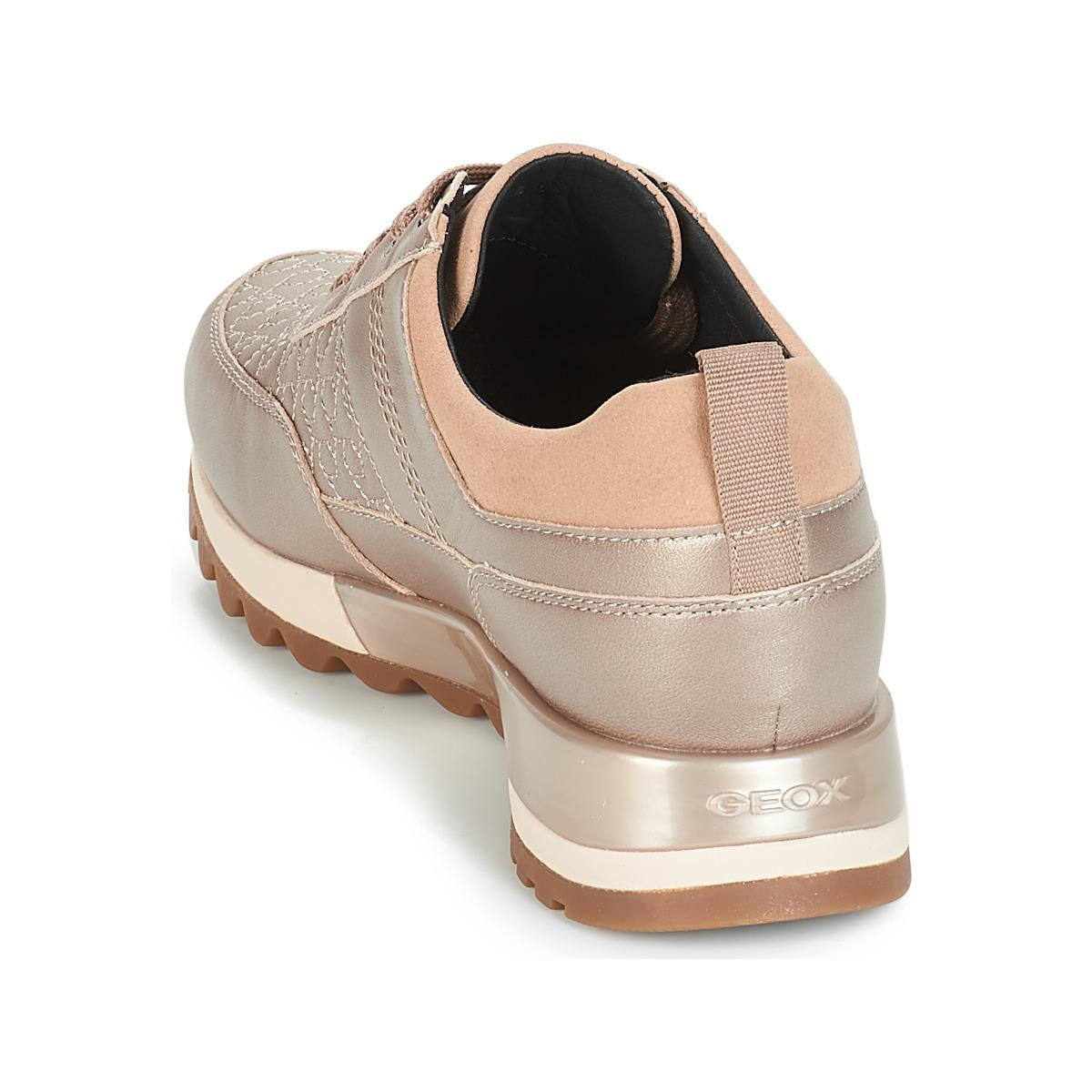 Geox D Tabelya Women's Shoes (trainers) In Beige in Natural