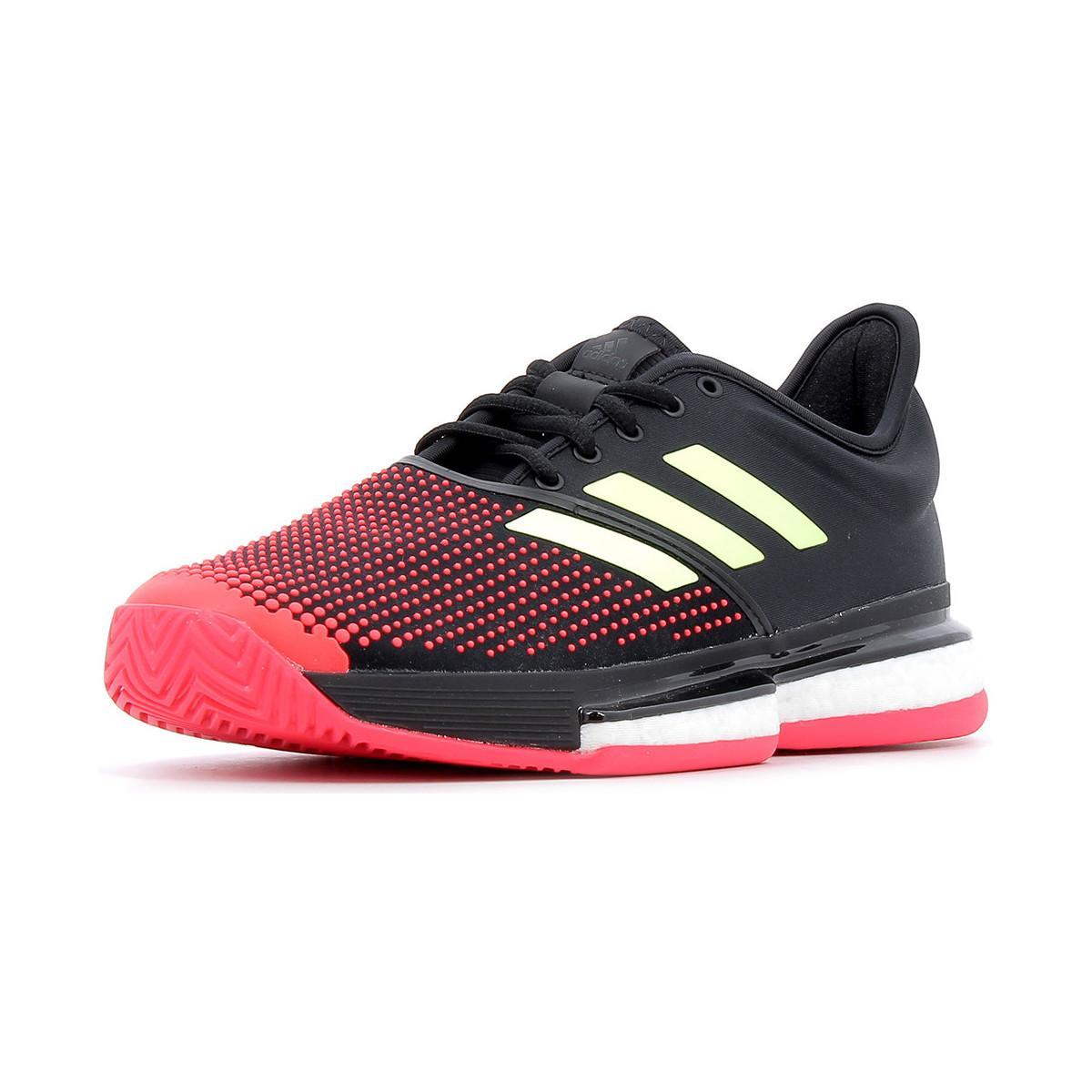 adidas Lage Sneakers Solecourt Boost Omnicourt in het Zwart voor heren
