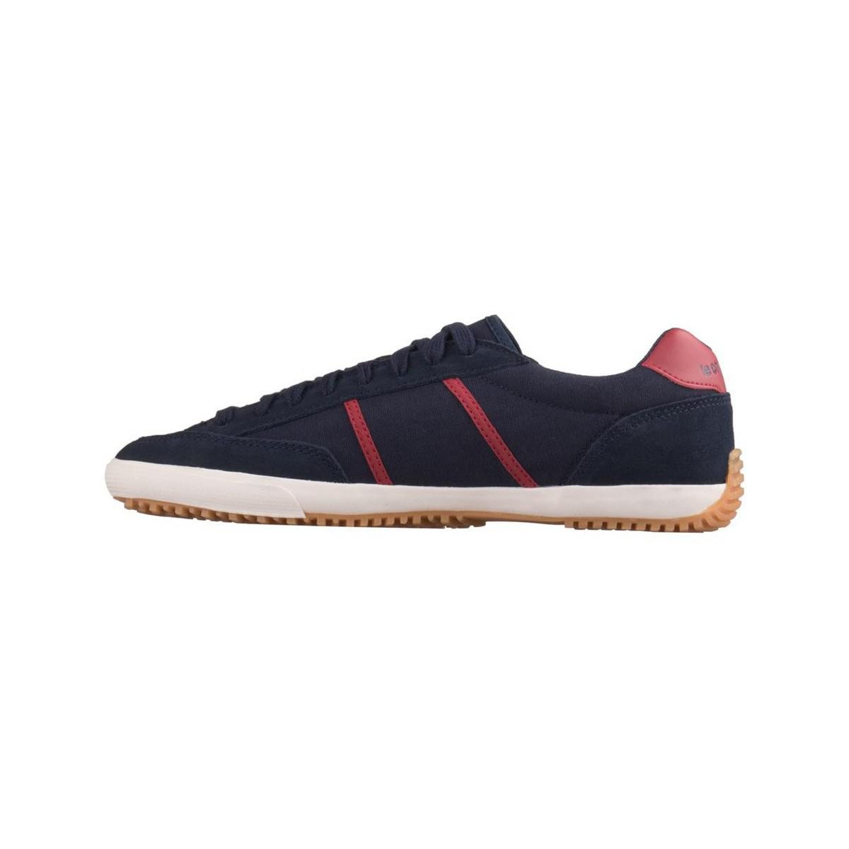 Le Coq Sportif Sapatilha Avron Navy Blue Men's Shoes (trainers) In Red for Men