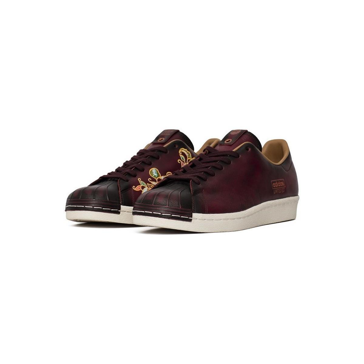 adidas Consortium X Limited Edt Superstar 80s Vault Men's Shoes (trainers) In Multicolour for Men