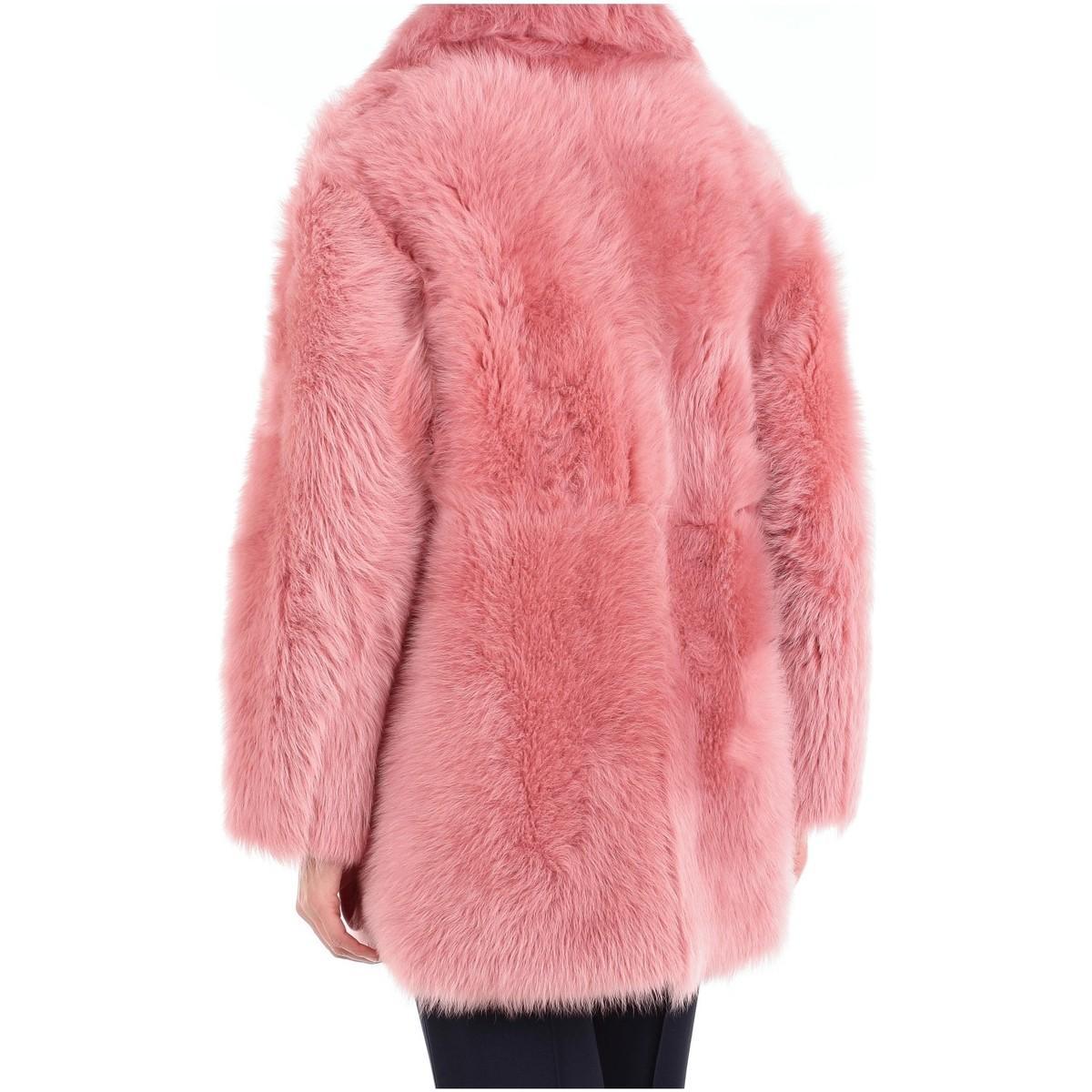 18003301 Manteau Blancha en coloris Rose A5DWF