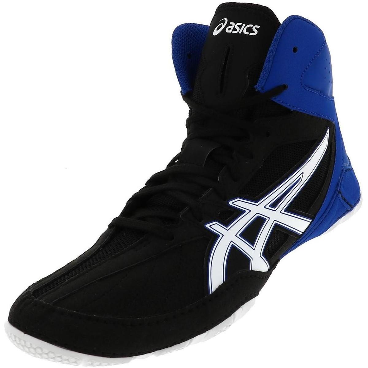 Cael v8.0 noir lutte hommes Chaussures en Noir Asics pour homme en ...