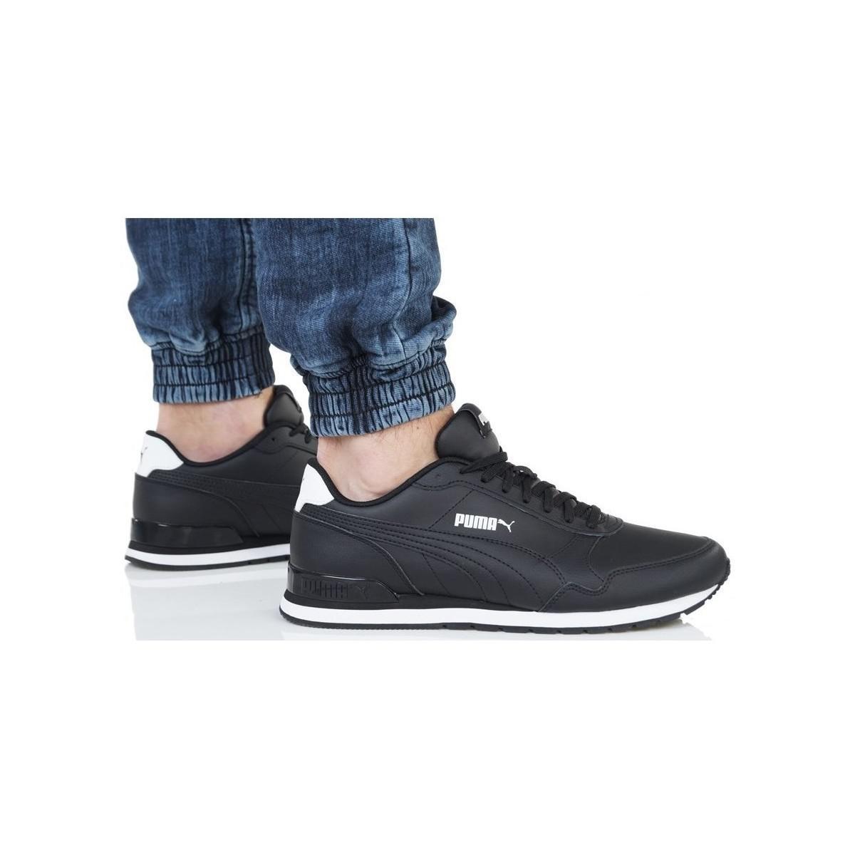 c781b48f PUMA St Runner V2 Full L Men's Shoes (trainers) In Black for men