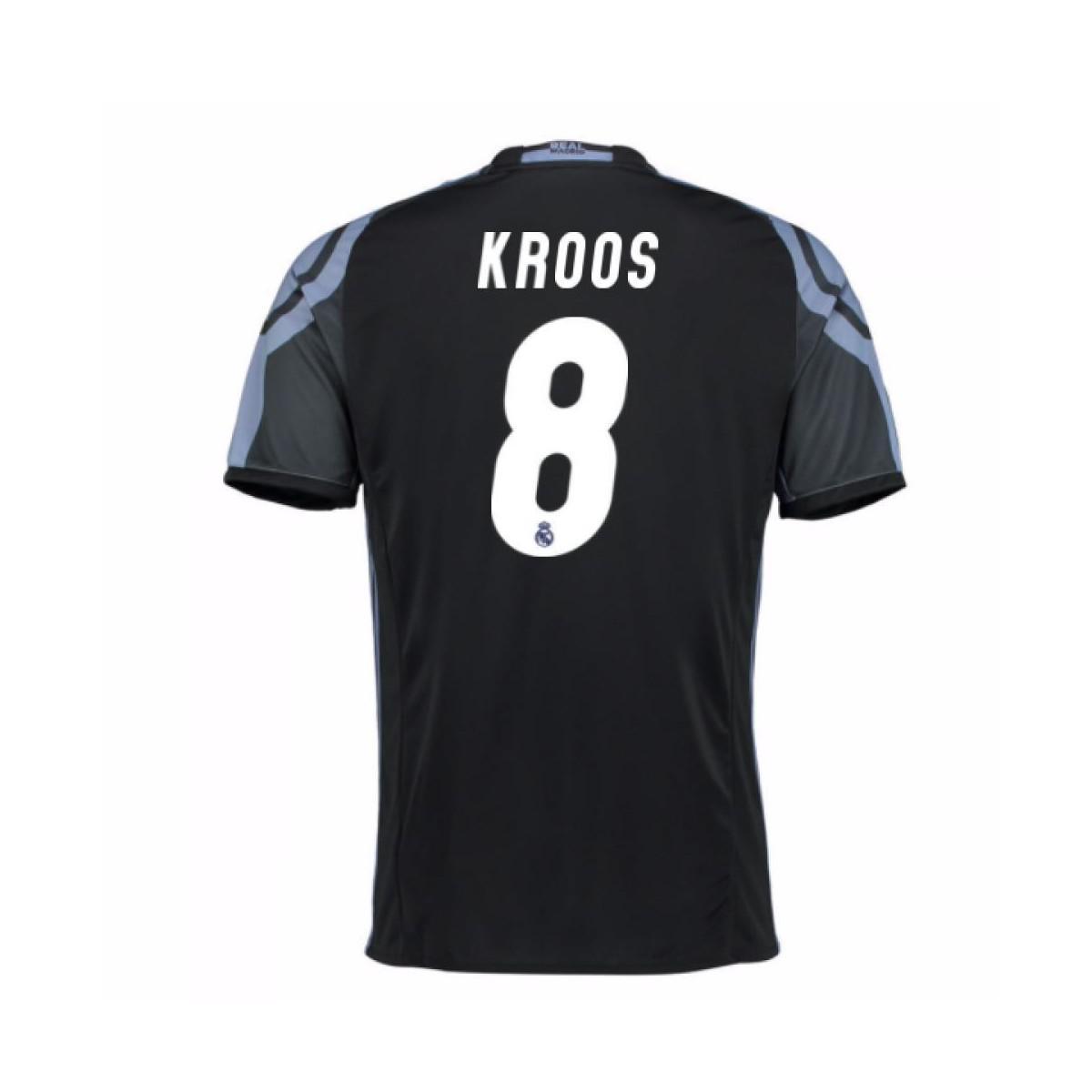 137729dd9 Adidas - 2016-17 Real Madrid 3rd Shirt (kroos 8) - Kids Women s. View  fullscreen
