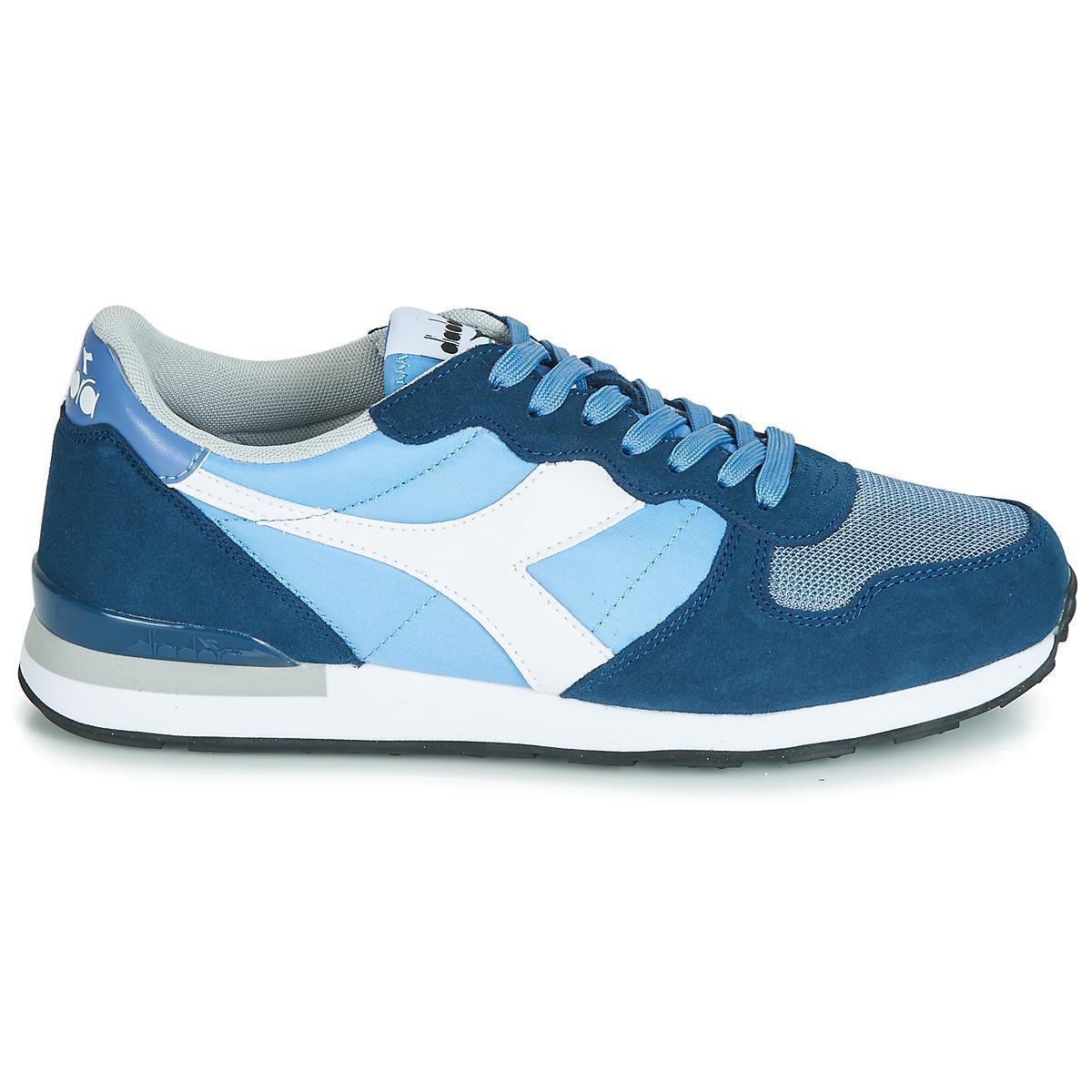 bb377d41d33 Diadora - Camaro Men's Shoes (trainers) In Blue for Men - Lyst. View  fullscreen