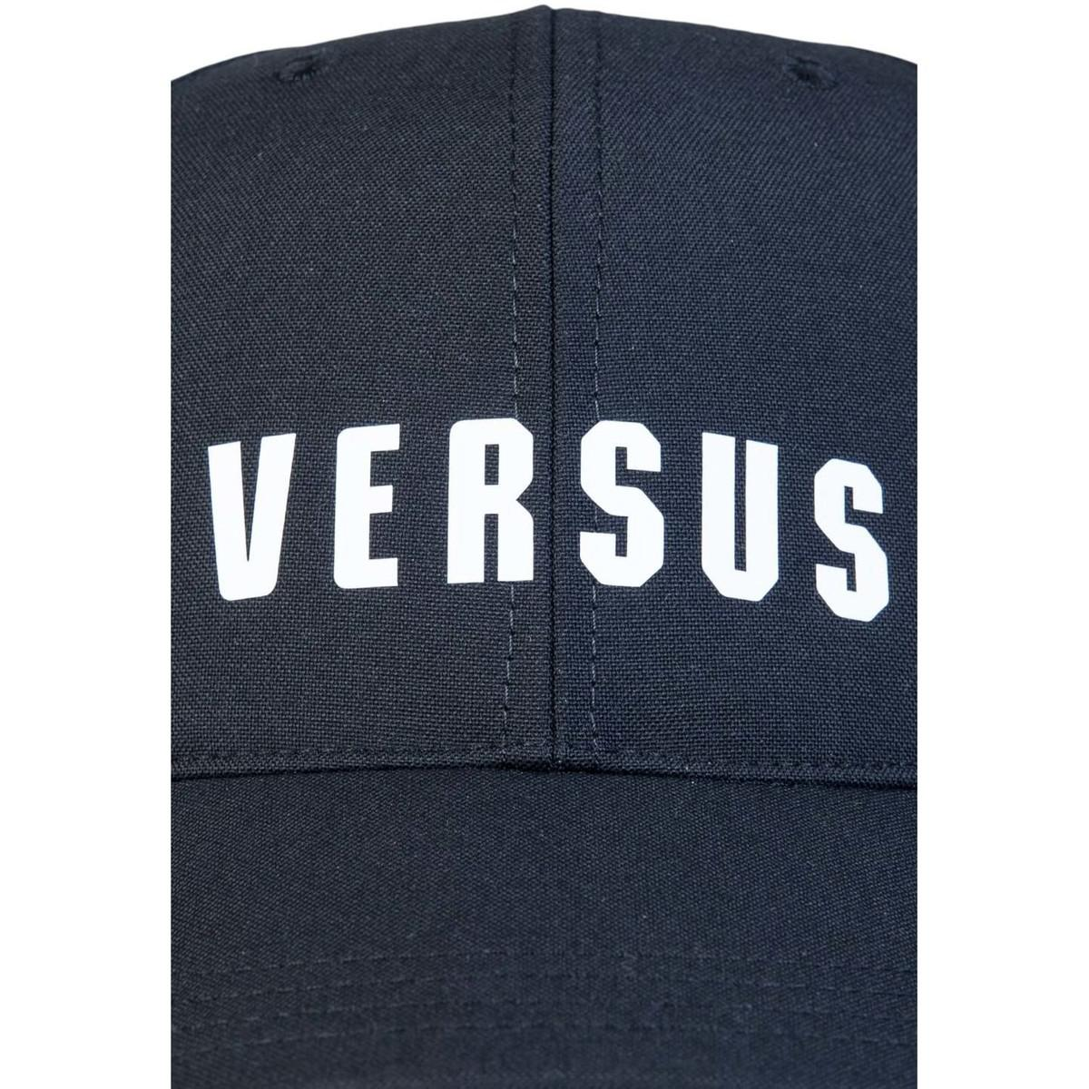 Bt10596 Versace In Men's Versus Baseball Black Buc0019 Cap xhrCtsQd