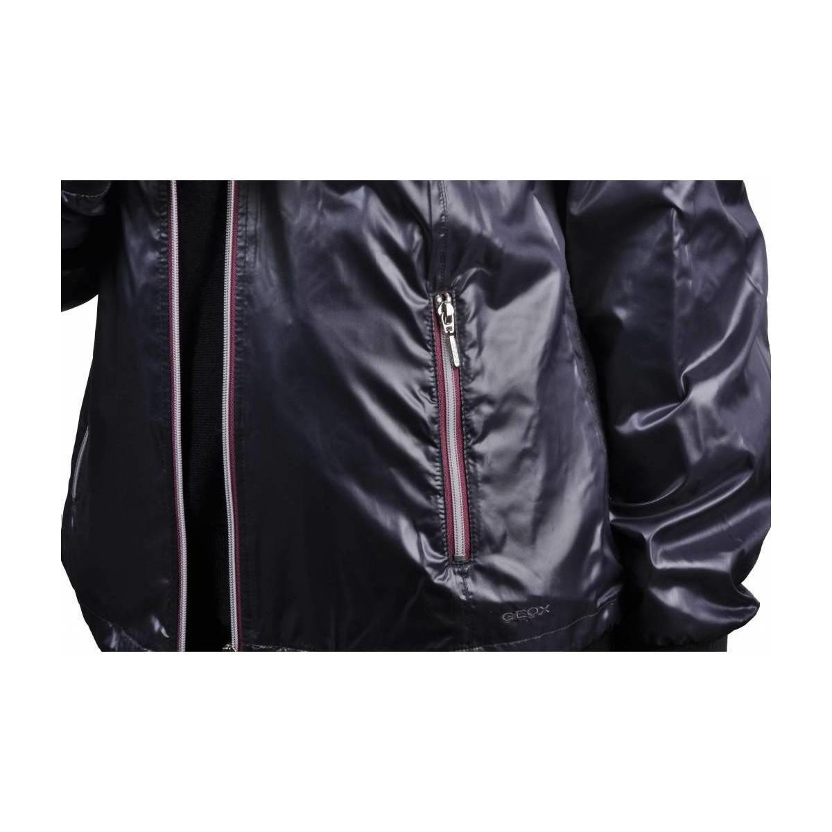 En detalle Tradicion asesino  Geox Chaqueta Mujer Primavera Women's Jacket In Purple - Lyst