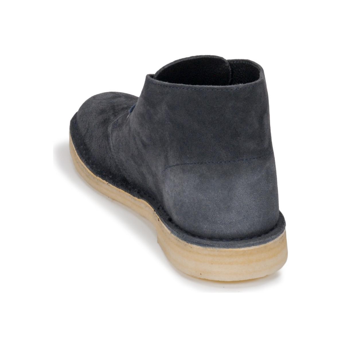 Clarks Laarzen Desert Boot in het Blauw voor heren
