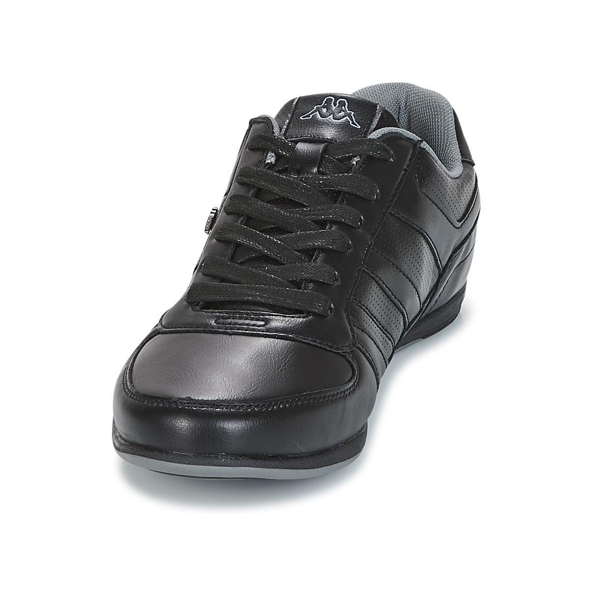 Kappa Synthetic Viron Men's Shoes (trainers) In Black for