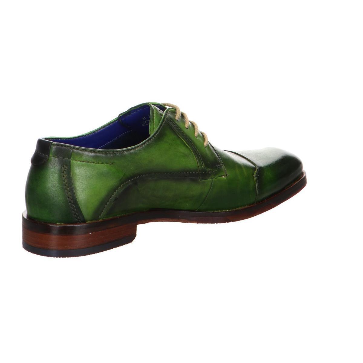 Bugatti Herrenschuhe Schnuerschuhe 312-65203-4100-7000 in Grün für Herren
