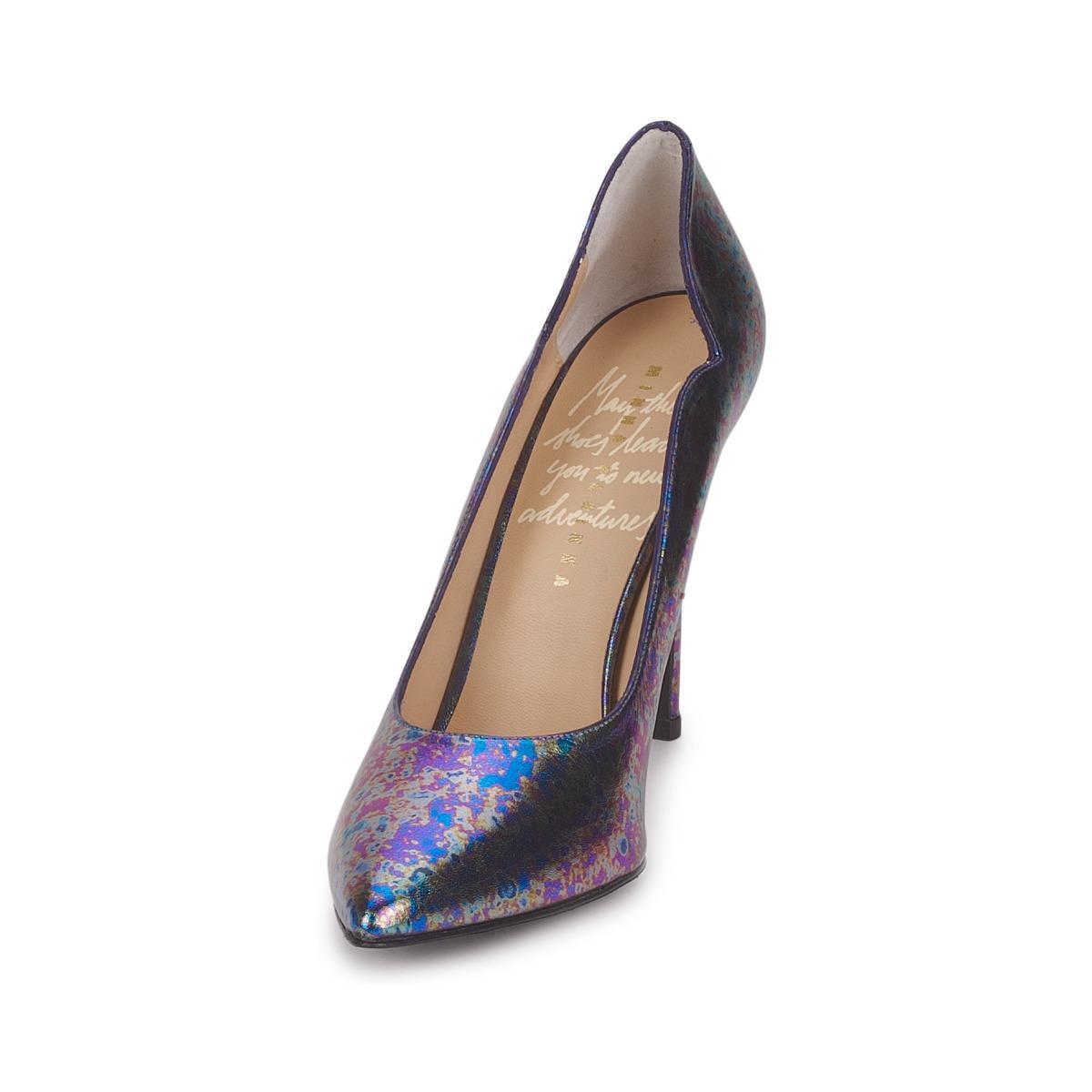 5963f4fe18 Minna Parikka - Blue Hile Women s Court Shoes In Multicolour - Lyst. View  fullscreen
