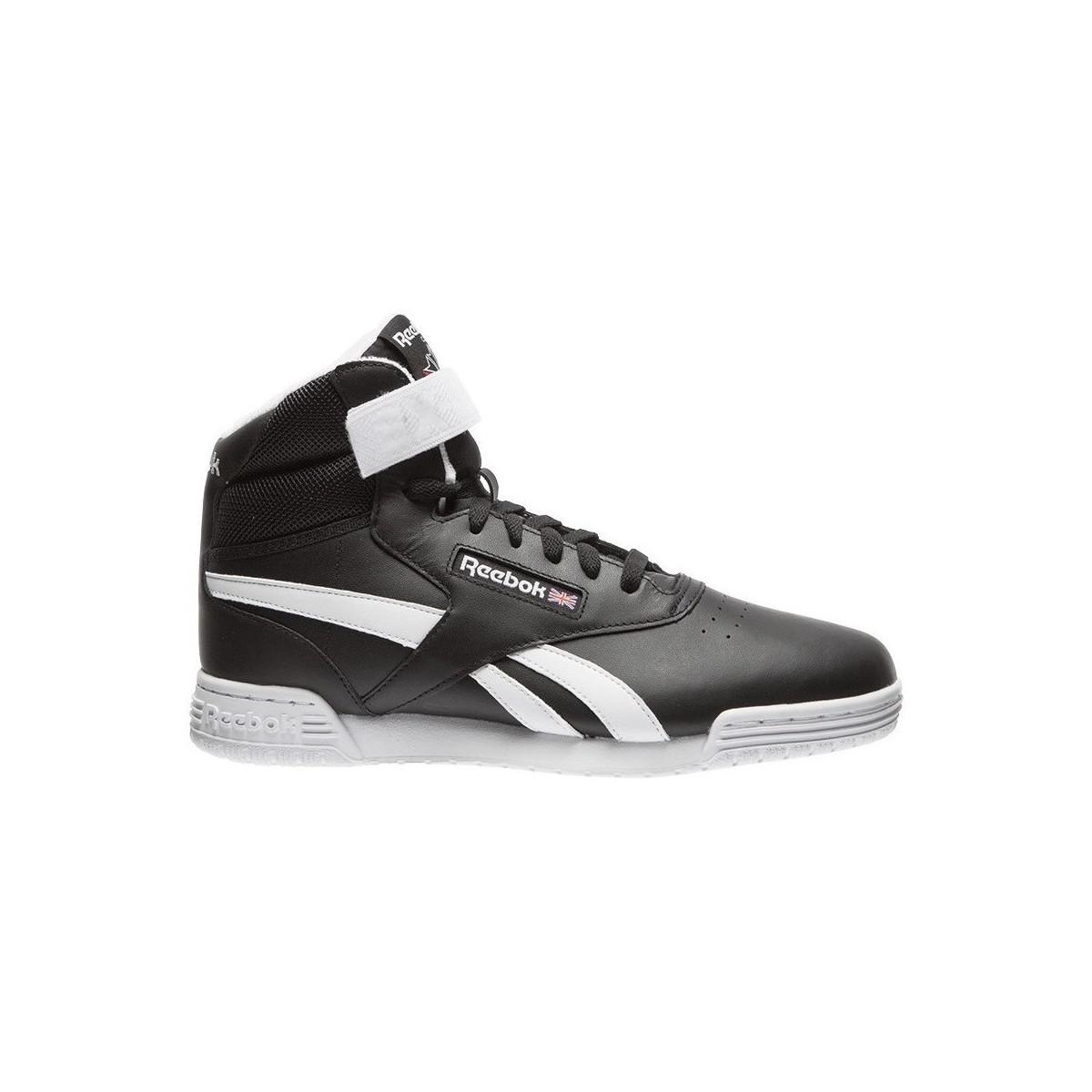 812a525b501c Reebok Exofit Clean Hi S Men s Shoes (high-top Trainers) In Black in ...
